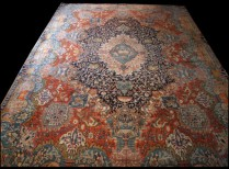 1244-6 a Large Authentic Persian Kashmar