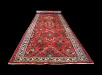 1432-5 a Runner Authentic Old Persian Sarouk